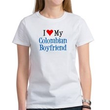 I Love My Colombian Boyfriend T-Shirt