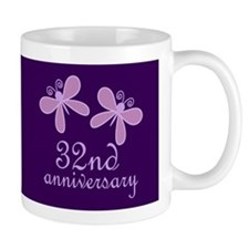 32nd Anniversary Keepsake Mugs
