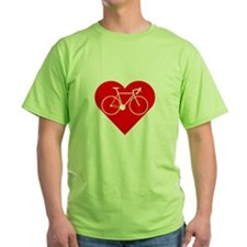 I Heart Cycling T-Shirt