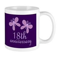18th Anniversary Keepsake Mugs
