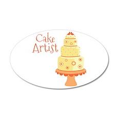 Cake Artist Wall Decal