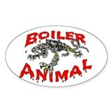 Boiler Animal Oval Bumper Stickers