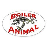 Boiler Animal Oval Decal