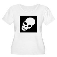 Skull X-Ray Plus Size T-Shirt