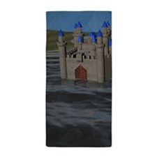 Water Castle Beach Towel