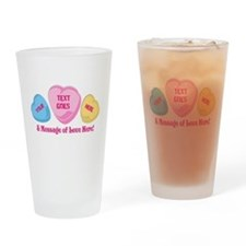 Personalized Candy Heart Valentine Special Drinkin