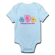 Personalized Candy Heart Valentine Special Body Su
