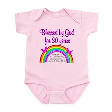 BLESSED 30TH Infant Bodysuit