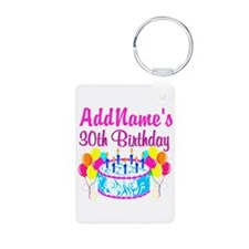 FABULOUS 30TH Keychains