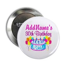 "FABULOUS 30TH 2.25"" Button"