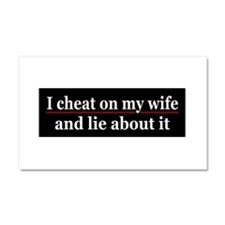 Cute Sex relationships Car Magnet 20 x 12