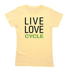 livecycle.png Girl's Tee