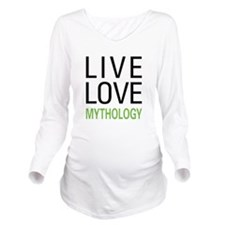 livemyth.png Long Sleeve Maternity T-Shirt