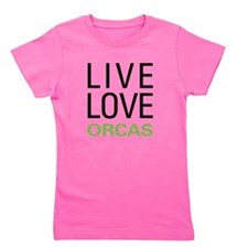 liveorca.png Girl's Tee