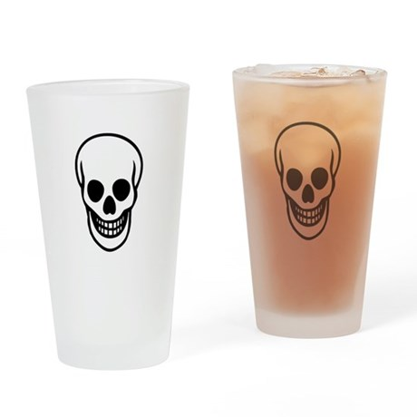 Skull Drinking Glass