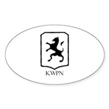 KWPN Oval Decal