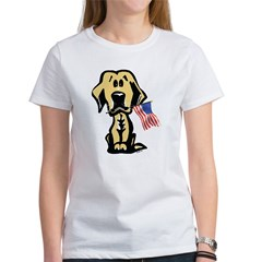4th of July Lab Women's T-Shirt