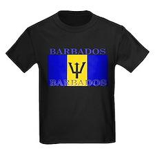 Barbados Flag T