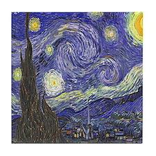 Van Gogh Starry Night Tile Coaster