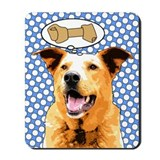 Chaco Dog Pop Art Mousepad