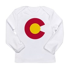 Colorado State Flag C Long Sleeve T-Shirt