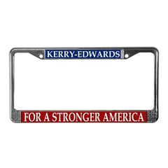 Kerry-Edwards License Plate Frame