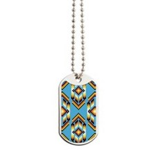 Native American Design Wind Dog Tags