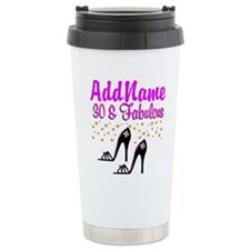 30TH HIGH HEEL Travel Mug