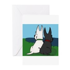 Scottie Friends Greeting Cards