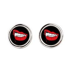 Vampire Lips Cufflinks