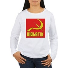 Diabetik w/red background T-Shirt