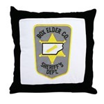 Box Elder Sheriff Throw Pillow
