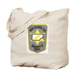 Box Elder Sheriff Tote Bag
