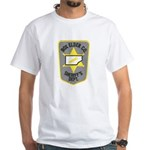 Box Elder Sheriff White T-Shirt