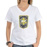 Box Elder Sheriff Women's V-Neck T-Shirt