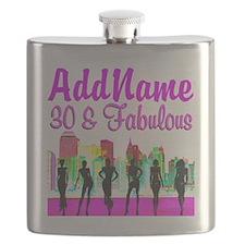 30TH NEW YORK Flask