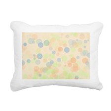 Pastel Dots Rectangular Canvas Pillow