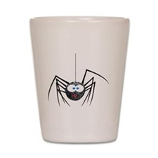 Hairy Spider Shot Glass