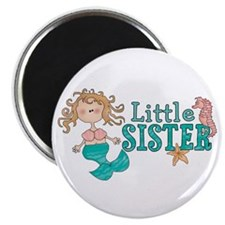 Mermaid Little Sister Magnet