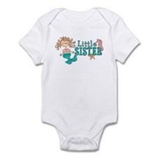 Mermaid Little Sister Infant Bodysuit