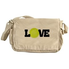 Tennis Love Messenger Bag