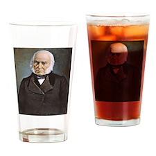 John Q. Adams Drinking Glass