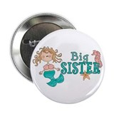 "Mermaid Big Sister 2.25"" Button (100 pack)"