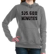 525,600 Minutes (light) Hooded Sweatshirt