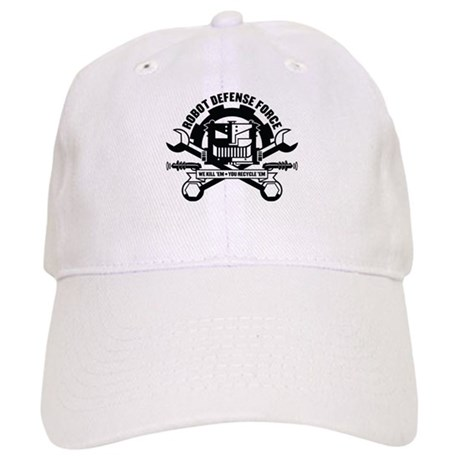 Strk3 Robot Defense Force Cap