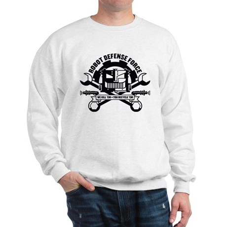Strk3 Robot Defense Force Sweatshirt