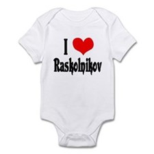 Raskolnikov Love 1 Infant Bodysuit