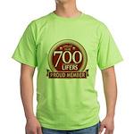 Lifelist Club - 700 Green T-Shirt