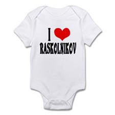 Raskolnikov Love 3 Infant Bodysuit