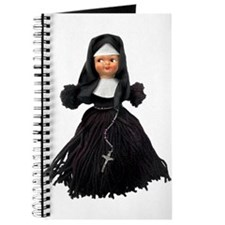 """Sister Flossie"" the Yarn Doll Nun Journal"